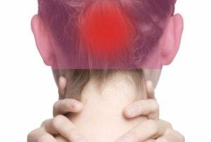 Болит голова сзади вверху (впервые)