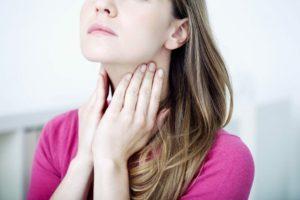 Боли горло и лицо