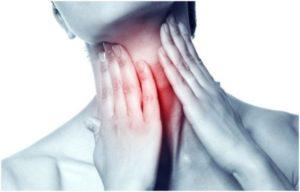 Боль в груди и спазм в горле