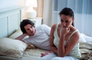 Переспала с парнем во время менсячных