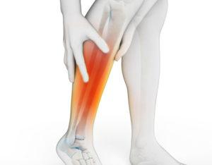 Боль в костях от колена до стопы