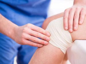 Боль в колене и температура