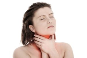 Боль в горле при открывания рта, кашель