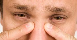 Боли в области переносицы