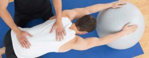 Массаж спины и ЛФК после эпидуральной анестезии