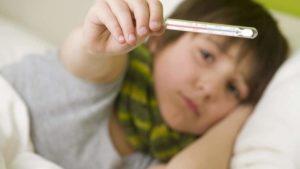 Лихорадка у взрослого и ребенка в один день периодически