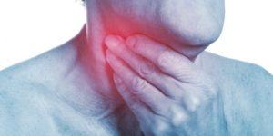 Боль в горле с левой стороны около кадыка