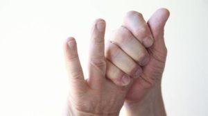 Болит кончик пальца на левой руке