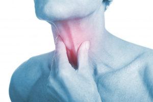 Боль в горле и языке