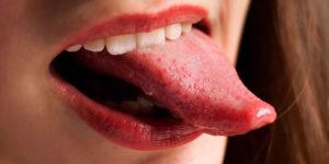 Красные края языка