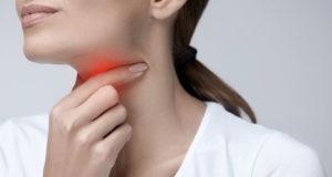 Боль в горле в районе гланд