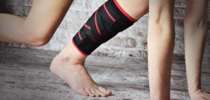 Частичное повреждение икроножной мышцы