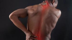 Боли в спине после удара