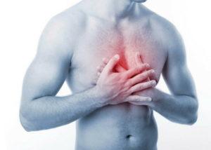 Пищевой комок и давление в области груди