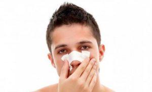 Боль в носу после бега