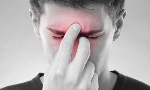 Боль в переносице