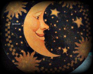 Лунное лицо, сбой цикла