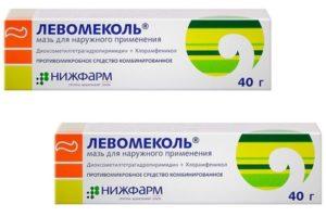 Левомеколь при контактном дерматите
