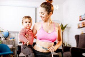 Как похудеть после грудного вскармливания