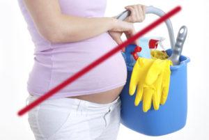 Бытовая химия при беременности