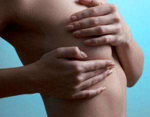 Болезненное уплотнение под левой грудью