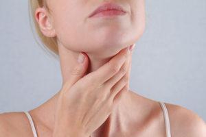 Маленькая щитовидная жедеза