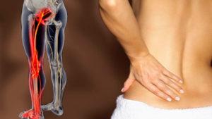 Болит левая нога сзади