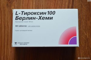 Лишний вес и L-тироксин