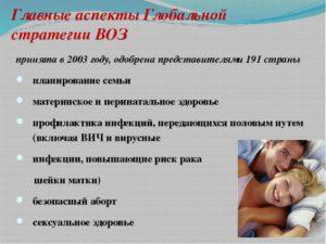 Планирование беременности и иппп
