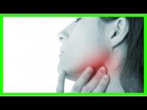 Боли в горле и под нижней челюстью
