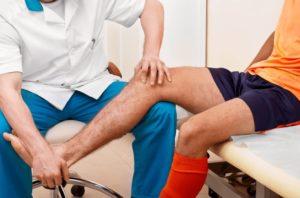 Боль в колене после перелома