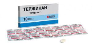 Лечение кишечной палочки тержинаном