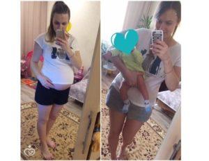 Как похудеть после родов на 20 килограмм